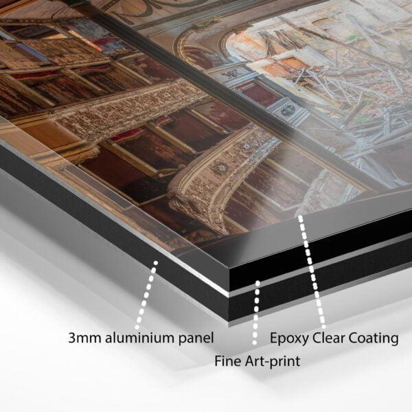 Fine art print on Dibond + Epoxy clear coating