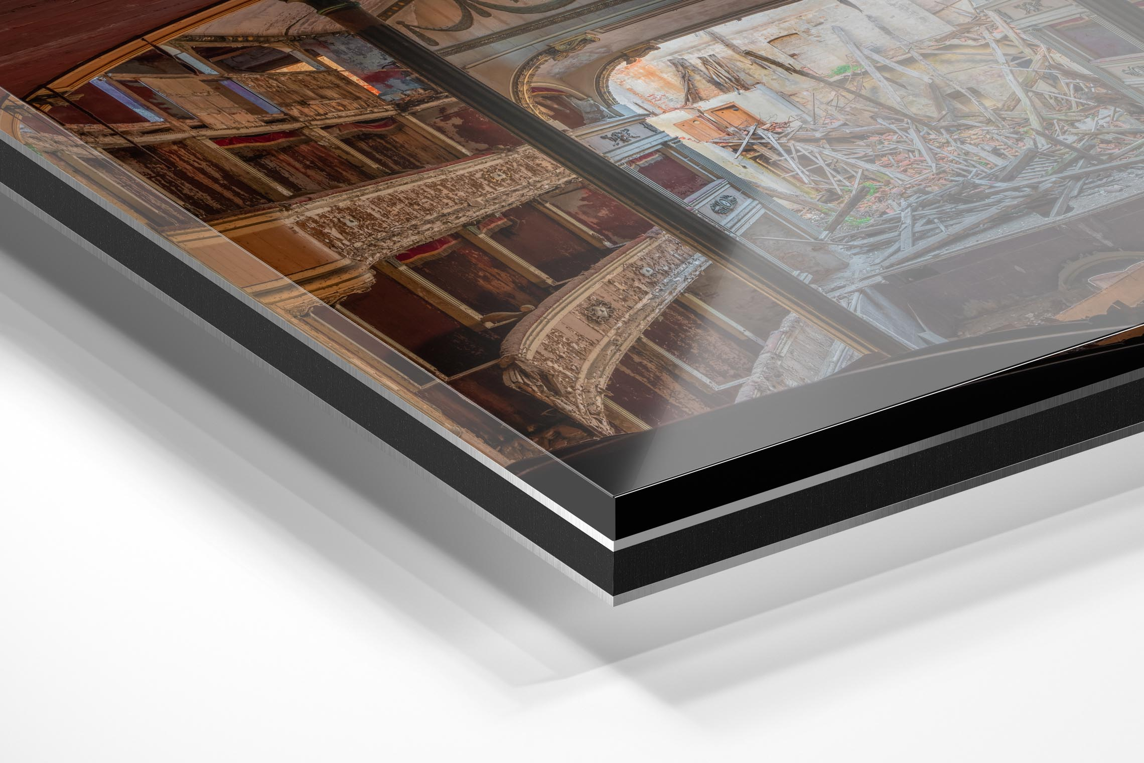 Baksteen Productions - wandecoratie - schilderij -fine art print - Aluminum dibond - clear epoxy_