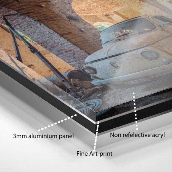 Fine art print on Dibond + Acrylic anti-reflex