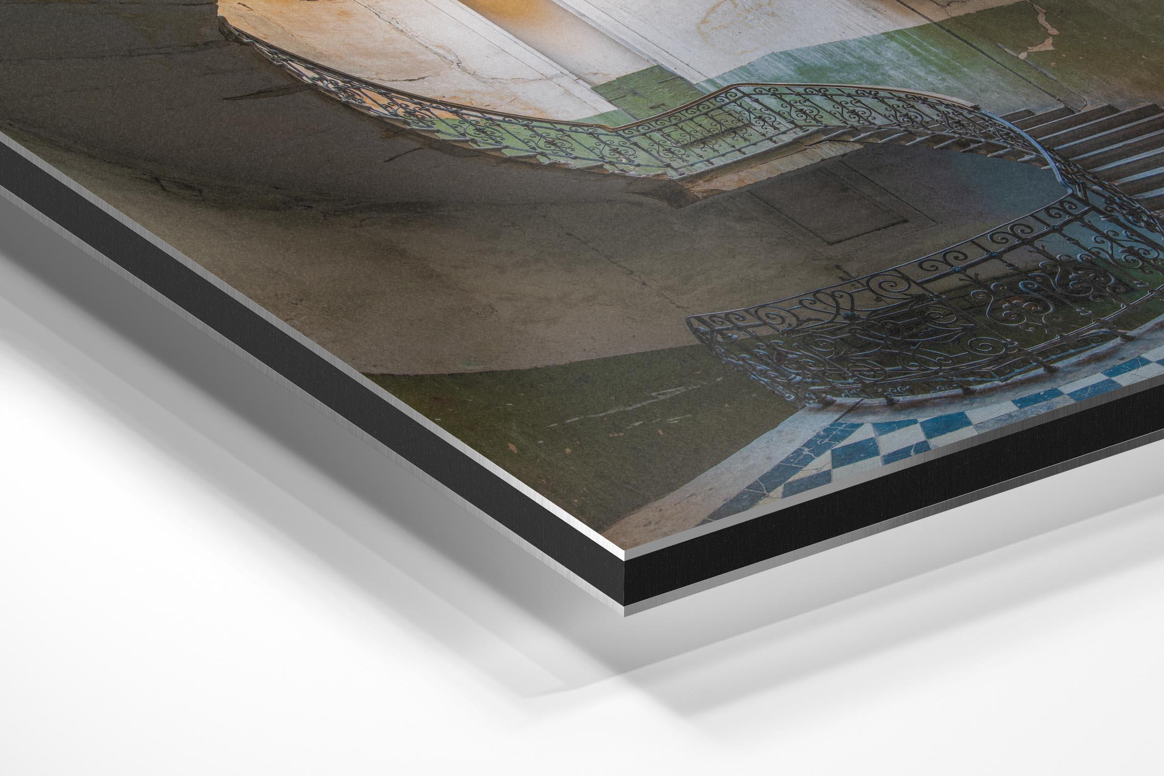 Baksteen Productions - wandecoratie schilderij uitleg dibond foto papier