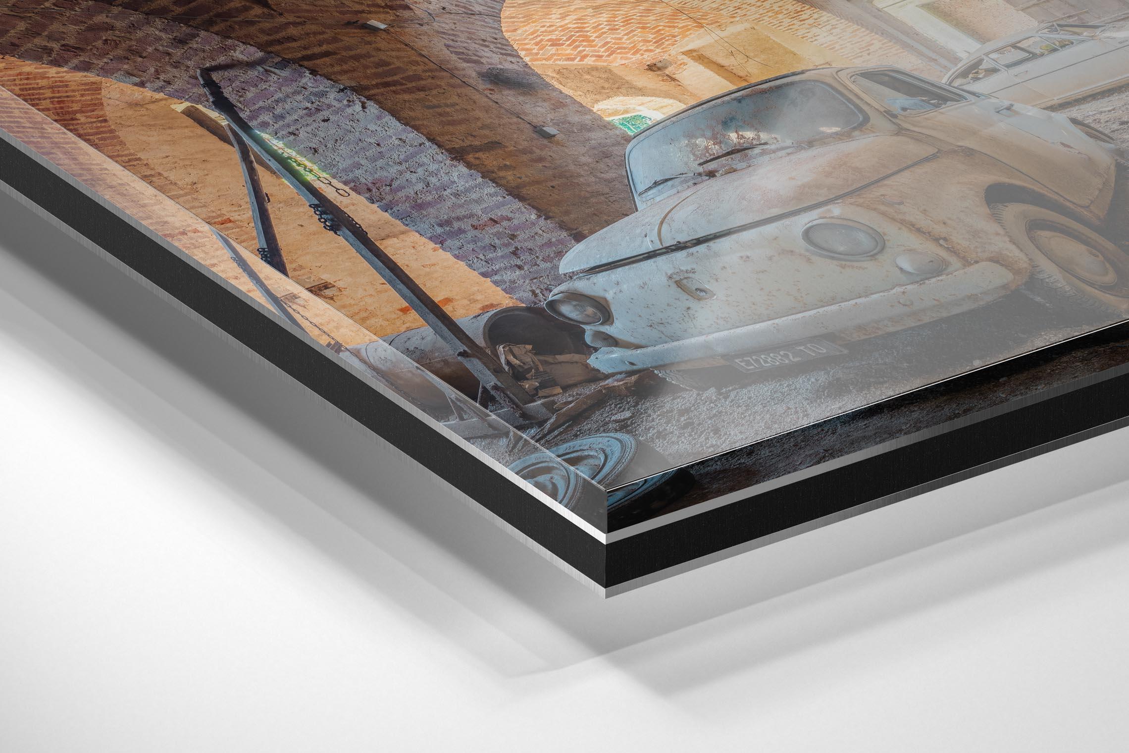 Baksteen Productions - wandecoratie schilderij uitleg -foto papier -dibond with Acrylic Glass 2mm mat