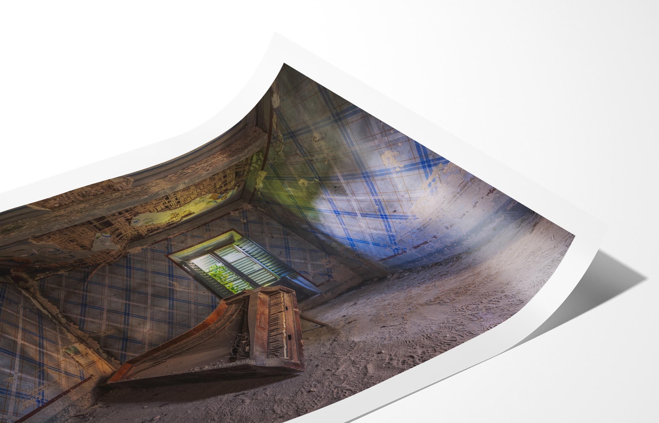Photo Print Mockup Set (matte) (closeup 1)